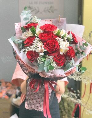 Bó Hoa Quà Tặng - D124530 - xinhtuoi.online
