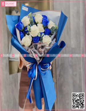 Bó Hoa Quà Tặng - D124547 - xinhtuoi.online