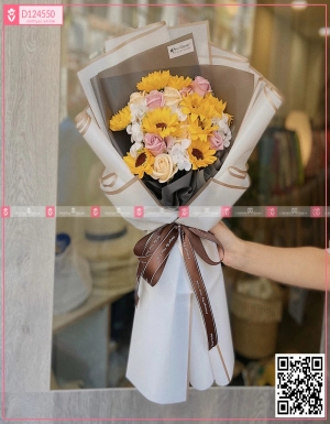 Bó Hoa Quà Tặng - D124550 - xinhtuoi.online