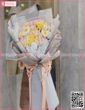 Bó Hoa Quà Tặng - D124552 - xinhtuoi.online
