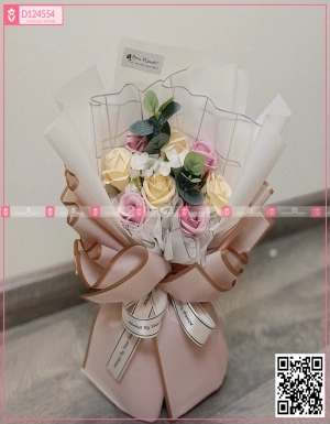 Bó Hoa Quà Tặng - D124554 - xinhtuoi.online
