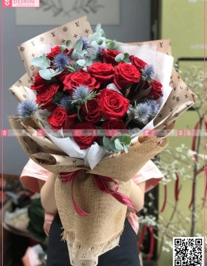 Bó Hoa Chúc Mừng - D124596 - xinhtuoi.online