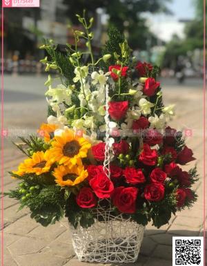 Hoa sinh nhật 001 - D173449 - xinhtuoi.online