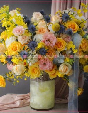 Bình hoa Luxury Tone Vàng 1 - D173531 - xinhtuoi.online