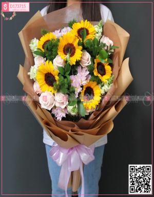 Bó Hoa Sinh Nhật - D173715 - xinhtuoi.online