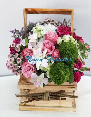 Box Congratulations Flower - xinhtuoi.online