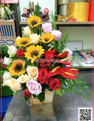 Hoa quà tặng - D29491 - xinhtuoi.online