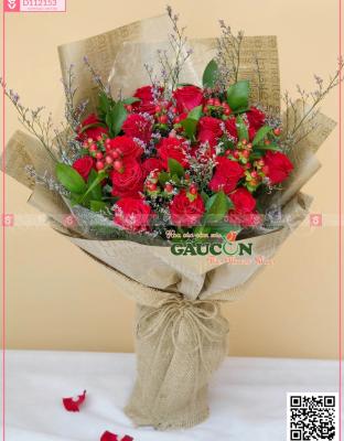 Bouquet Congratulations Flower - D112153 - xinhtuoi.online
