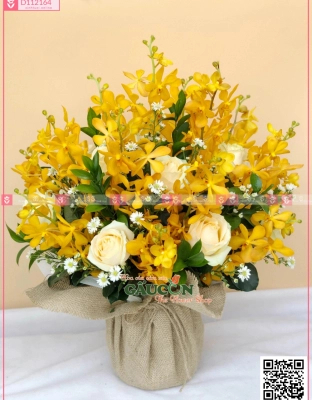 Basket Grand Opening Flowers - D112164 - xinhtuoi.online