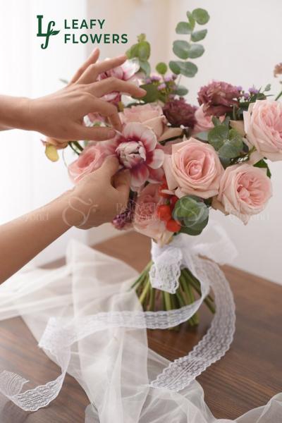 Bó hoa cưới 03 - D37198 - xinhtuoi.online