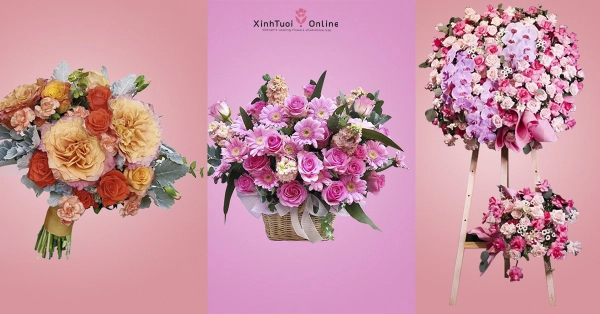 Send flowers from Local florists in Ho Chi Minh City  -Xinhtuoi.online  - xinhtuoi.online