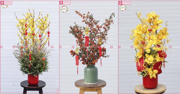 Đặt hoa Tết sớm để được giá ưu đãi tốt nhất!- XinhTuoi.online