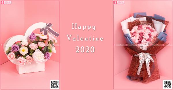 Hoa quà tặng nhân dịp lễ tình nhân (valentine)