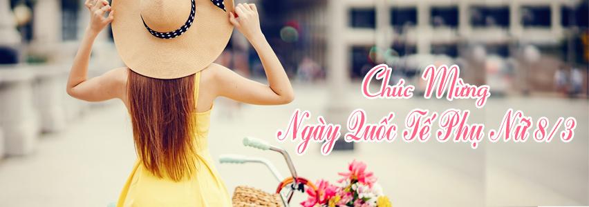 Chúc mừng Ngày Quốc Tế Phụ Nữ 8/3 - xinhtuoi.online