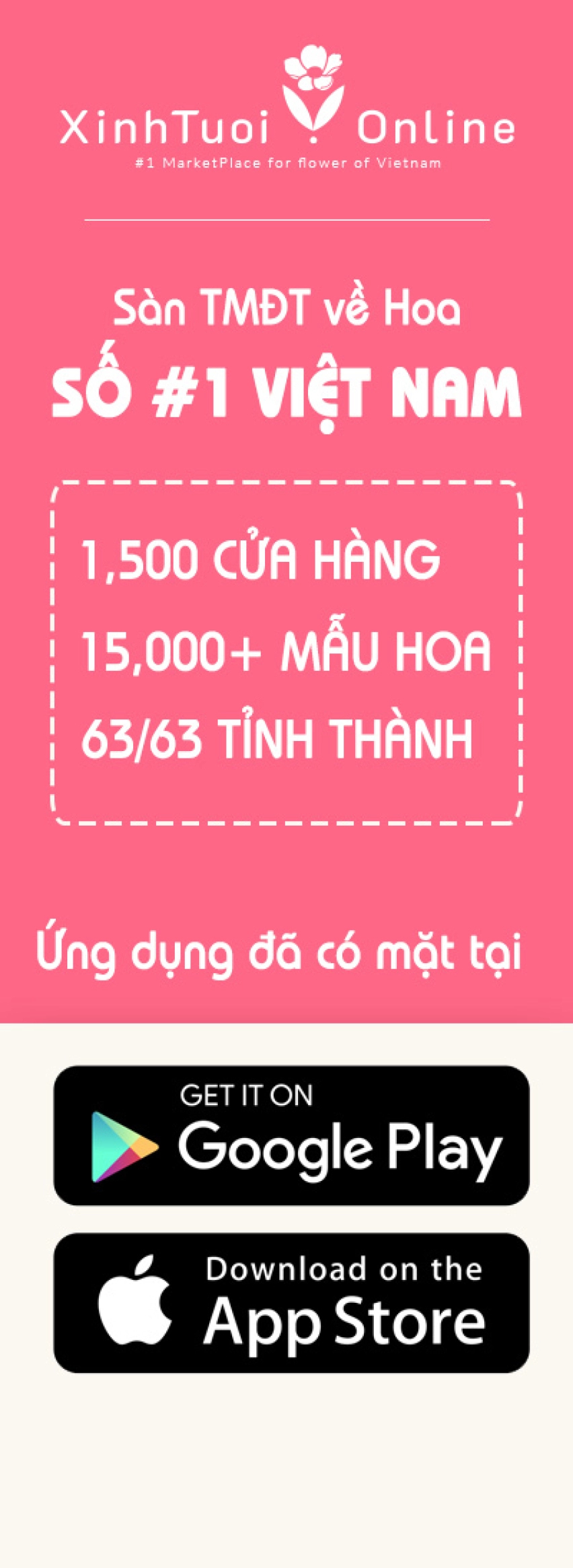 Xinh Tươi Online - Sàn TMĐT Về Hoa Số #1 Việt Nam