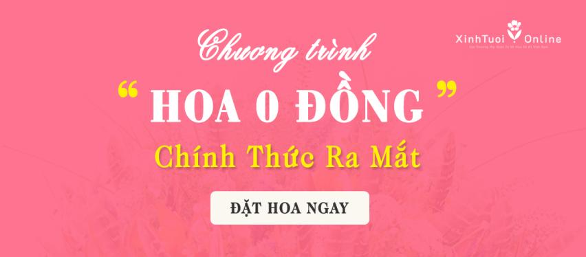 Flower 0đ, first appeared in Vietnam - xinhtuoi.online
