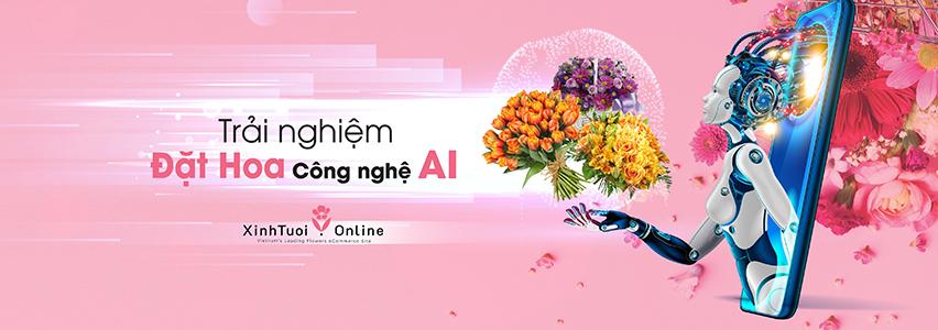 Đặt Hoa Online bằng Công Nghệ 4.0 (AI) - xinhtuoi.online