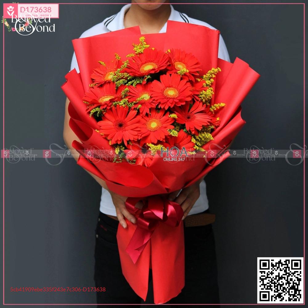 Bó Hoa Chúc Mừng - D173638 - xinhtuoi.online