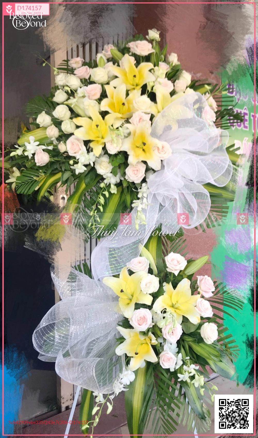 Hoa trắng - D174157 - xinhtuoi.online