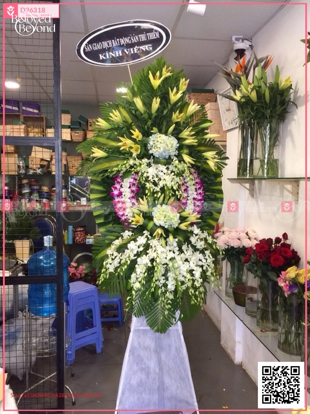 Hoa chia buồn - D26318 - xinhtuoi.online
