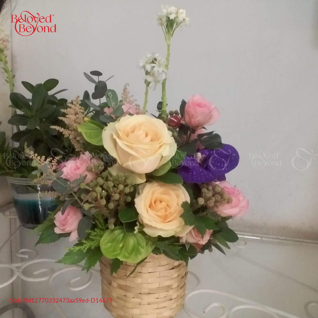 Giỏ Hoa Sinh Nhật - xinhtuoi.online