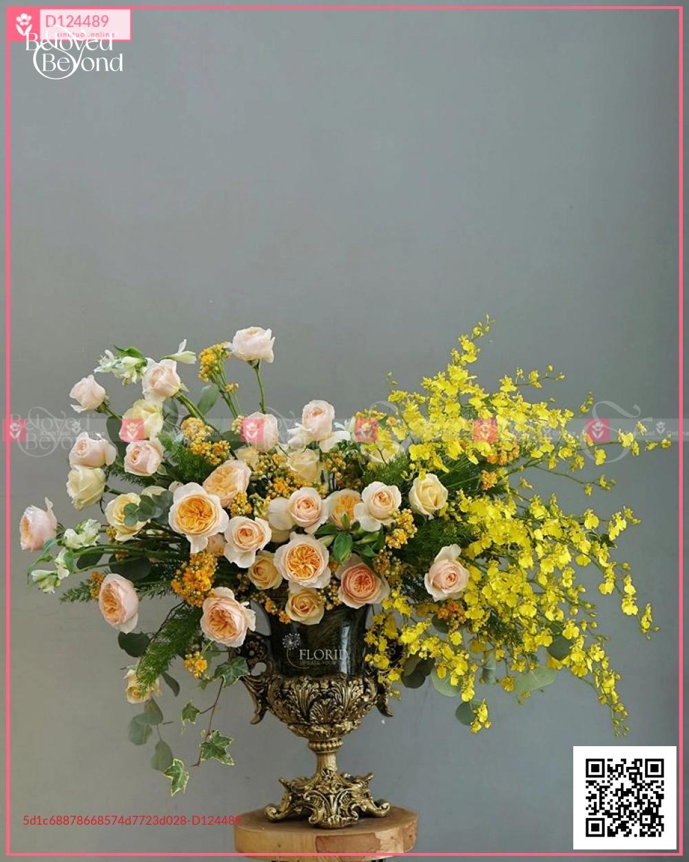 Bình Hoa Sinh Nhật - D124489 - xinhtuoi.online