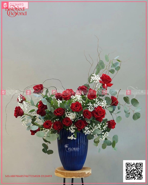 Lẵng Hoa Sinh Nhật - D124493 - xinhtuoi.online