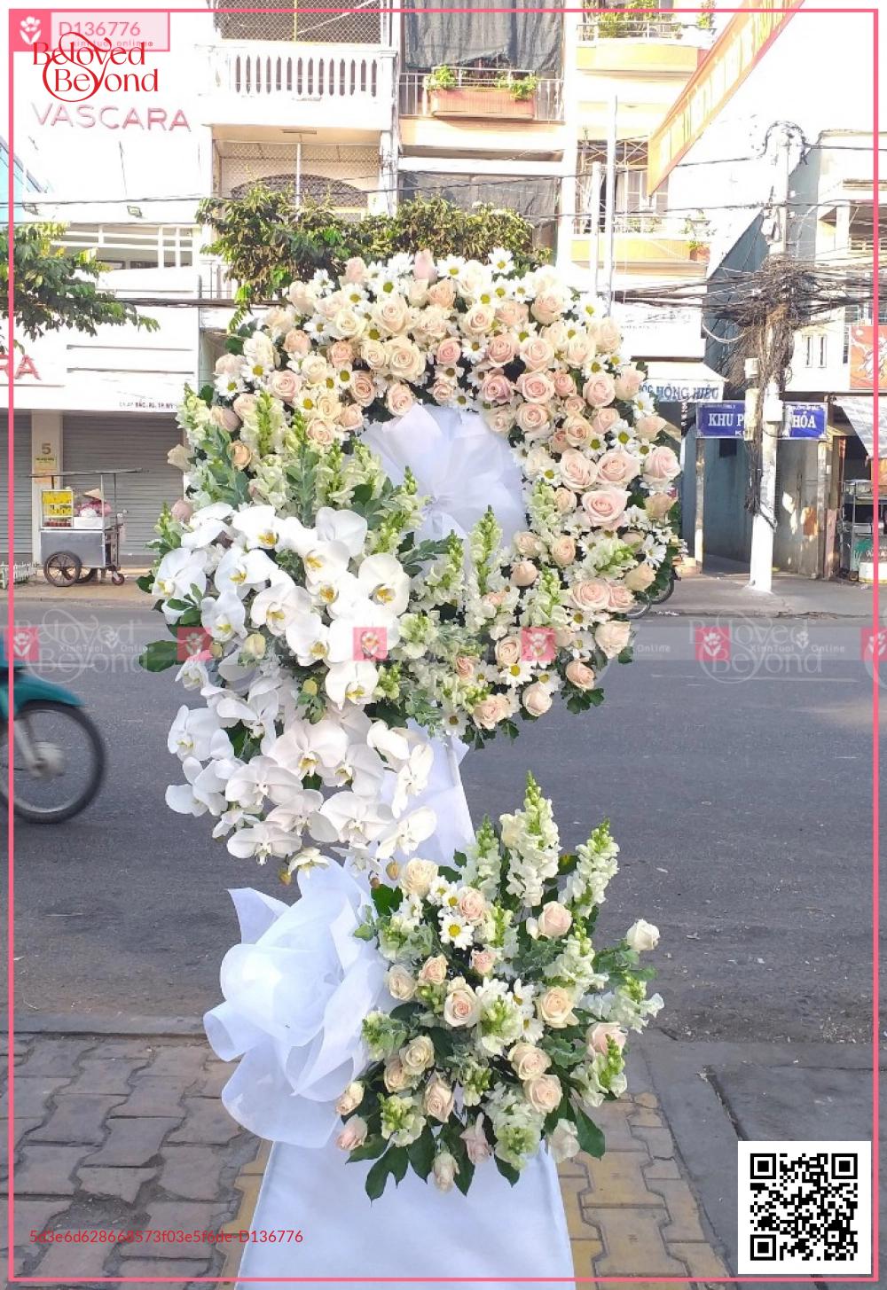 Hoa trắng - D136776 - xinhtuoi.online