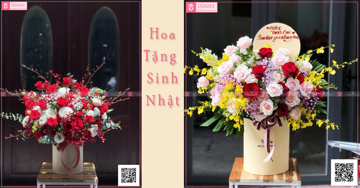 Hoa tặng sinh nhật sang trọng và đẹp tại TP HCM