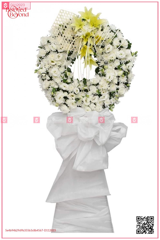 Kệ hoa chia buồn TA05 - D112023 - xinhtuoi.online