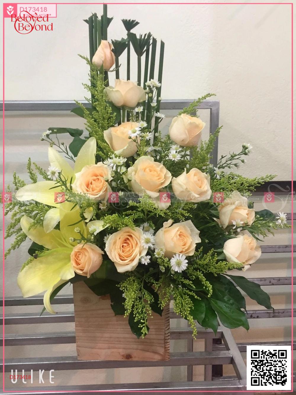 Hoa quà tặng - D173418 - xinhtuoi.online