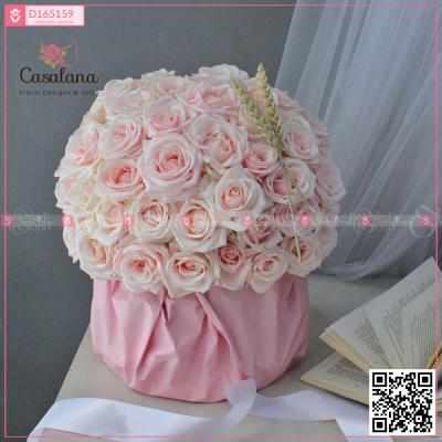 Full Roses Box Pastel - D165159 - xinhtuoi.online