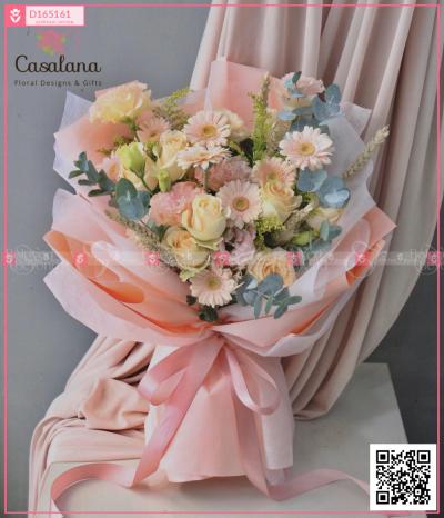 Bó Pastel Mix - D165161 - xinhtuoi.online