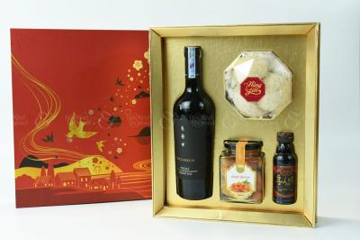 Hộp quà Tết Hạnh Phúc - D580087 - xinhtuoi.online