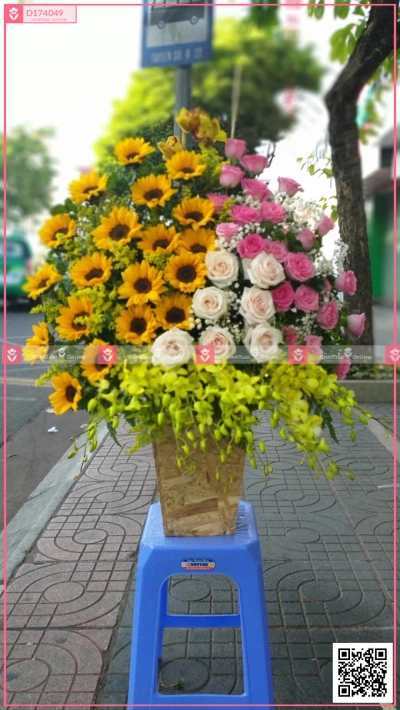 Lẵng Hoa Sinh Nhật - xinhtuoi.online