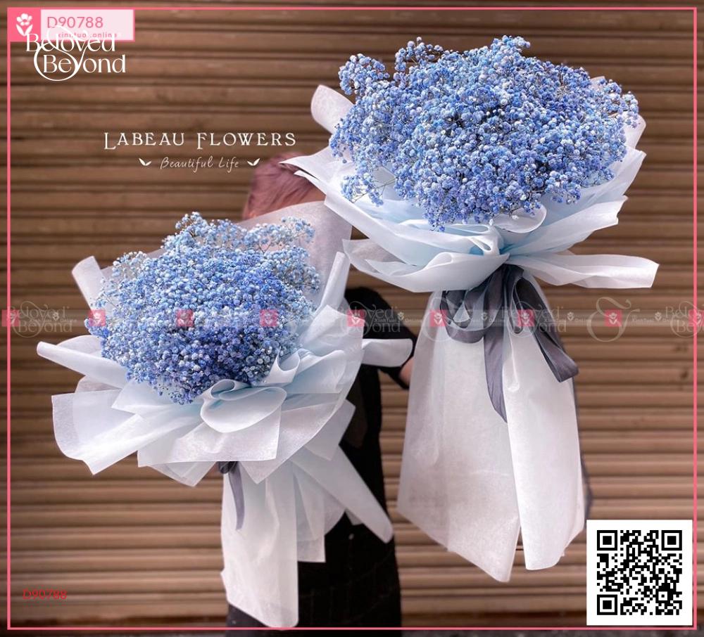 Babi blue - D90788 - xinhtuoi.online